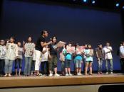 2012年8月19日&20日 南三陸町ベイサイドアリーナでのワークショップ&ライブ(humannote南三陸シンガーズの誕生)